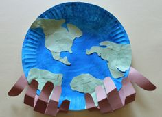 """God The Creator And Sustainer  You can find dozens and dozens of crafts online to help you teach the kiddos that God is the Creator. song """"He's Got the Whole World in His Hands"""" http://craftingthewordofgod.com/2013/05/22/god-the-creator-and-sustainer/"""