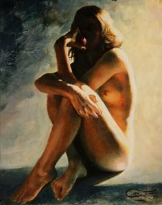 """""""On the Eve"""" Leo Plaw, 24 x 30cm, oil on canvas #art #painting #figurativeart #oilpainting"""