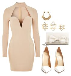 """""""👑💞"""" by queen-jamii ❤ liked on Polyvore featuring beauty, Rare London, RED Valentino, Francesco Russo and Charlotte Russe"""