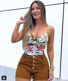 Hermoso Date Outfits, Mom Outfits, Short Outfits, Spring Outfits, Casual Outfits, Cute Fashion, Fashion Looks, Fashion Outfits, Womens Fashion