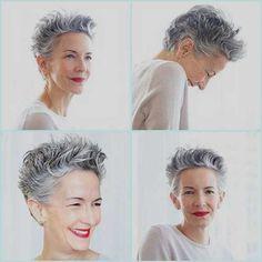 kurzen Pixie Frisuren für ältere Frauen