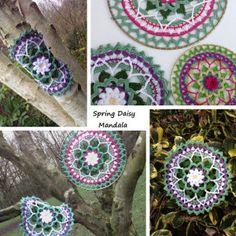 Spring Daisy Mandala