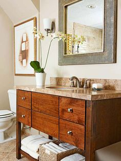 Get a bathroom that boasts fabulous style and function. Find inspiration for your remodeling project from these amazing before and after bathroom makeovers.