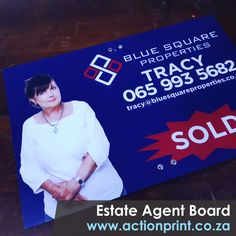 Correx boards printed in full colour. Ideal for estate agent for sale boards or advertising boards. Real Estate Signs, Us Real Estate, Real Estate Agency, Event Signage, Outdoor Signage, Corrugated Plastic Signs, Photo Direct, Clip Frame, Name Stickers