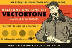 VectorTone | Halftones and More by RetroSupply Co. on @creativemarket