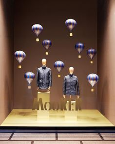 "LA RINASCENTE, Milan, Italy, ""Lightness and Elegance"", for MooRER, pinned by Ton van der Veer"
