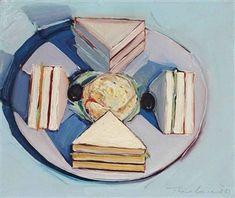 Sandwich By Wayne Thiebaud ,1961