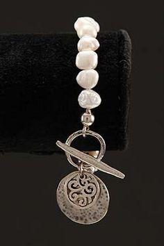 Double Toggle Bracelet -- Zvu Imports / Artisan Jewelry Online Store