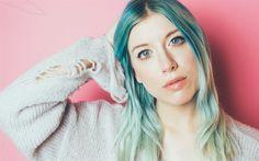 Download wallpapers Sarah Hollins, singer, beauty, 4k, beautiful woman