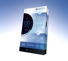 Interface Design, Blood Sugar, Diabetes Mobile App