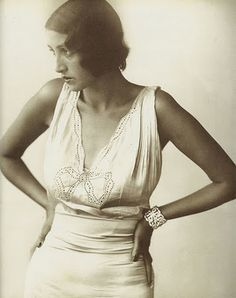 Renee Perle, the muse and girlfriend of Jaques Henri Lartigue