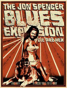 Jon Spencer Blues Explosion - Nat Damm - 2015 ----