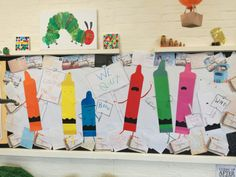 The Day the Crayons Quit -Drew Daywalt,Oliver Jeffers Library Display