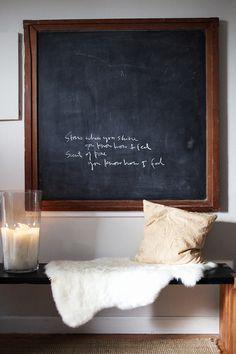 i love chalkboards.