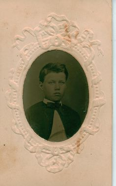 Israel Gatfield  Circa. About 1863 or later