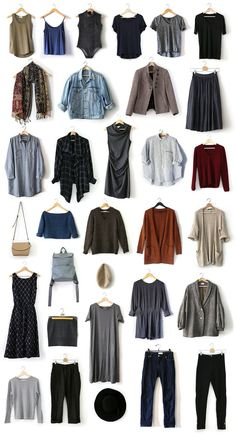 Fall 2018 Capsule Wardrobe The items I chose for my fall 2018 Project 333 capsule. Capsule Wardrobe 2018, Fall Wardrobe, Tomboy Capsule Wardrobe, Staple Wardrobe Pieces, Minimalist Wardrobe, Minimalist Fashion, Fall Outfits, Casual Outfits, Summer Minimalist