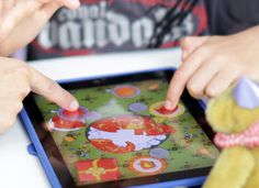 Article about interface and gestures for UI meant for kids