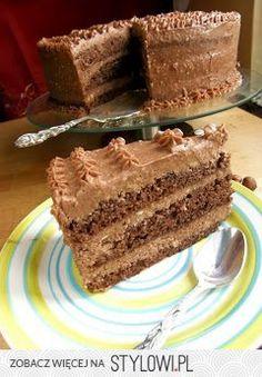 Tort Ferrero rocher i krem bez masła :) Smaczne domowe…