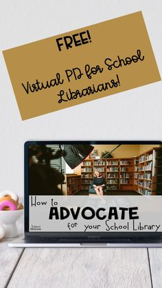 Are you a school librarian looking for meaningful and relevant professional development? Try this free session on School Library Advocacy and see how convenient online, on-demand PD for school librarians can be! Take control of your professional development today! Reading Motivation, Library Organization, Library Skills, School Librarian, Media Specialist, Free Library, Media Center, Professional Development, Teacher