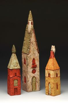 series proj:  ByersMcCurryStudio.com - Prayer Towers