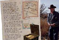 La storia di Forrest Fenn che ha nascosto un tesoro in New Mexico e gli indizi per trovarlo in una poesia http://lettura.corriere.it/caccia-al-tesoro-in-versi-nel-new-mexico/