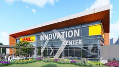 DHL Innovation Center Troisdorf: Wegbereiter für die Logistik der Zukunft Innovation Centre, International Companies, Portal, Broadway Shows, Chicago, World, Outdoor Decor, Future, The World
