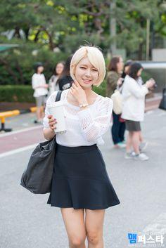 AOA Choa Like her hair cut... She is really pretty ;D