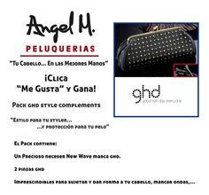 """""""Clica y Gana""""  Un Precioso Pack ghd style complements!"""