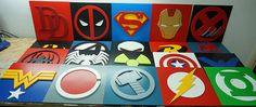 Veneno de superhéroe arte de la pared arte de pared de