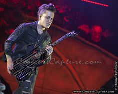 Avenged Sevenfold return to the stage at 2013 Rock USA concert photo