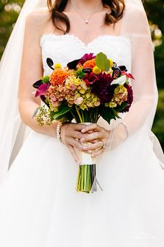 Mixed Flowers Bouquet || Wedding Flowers
