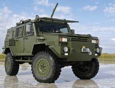 RG-32M Mine Hardened Armoured Patrol Vehicle