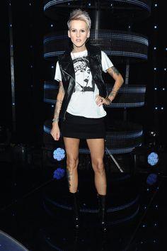 Agnieszka Chylińska w 2015 roku Leather Skirt, Punk, Casual, Skirts, Style, Fashion, Swag, Moda, Skirt
