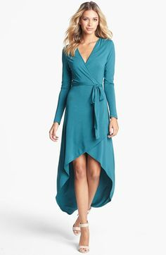 High/Low Jersey Wrap Dress  http://rstyle.me/~19snC