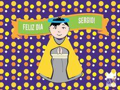 Sergio hoje é teu dia!! Tudo de bom para você!  #SalveRainha #FelizDia #CuidameSempre