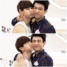 Mark and Jr. cutie