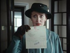 "Miss Lemon in ""Agatha Christie's Poirot: How Does Your Garden Grow?"""