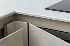 Кухонная столешница,фасады.Используемые материалы Kerlite: Openspace 3000 x 1000 x 3,5 мм