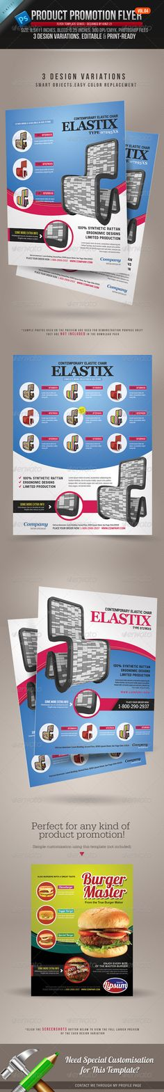 Product Promotion Flyer Vol.04