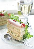 Cake Sandwich, Sandwiches, Kala, Cheesecakes, Food And Drink, Appetizers, Pie, Baking, Torte