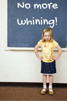 Why children whine and how to stop it