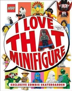 Presents information about more than two hundred LEGO minifigures, providing the theme, year, and rarity of each.