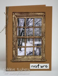 StampingMathilda: Winter Photo Card