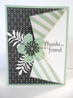 Thanks Collar Fold Card