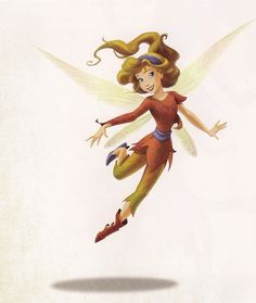 A fruit-talent fairy who wears eye-shadow a lot and is very kind and more emotional then everyone except for the water fairies. Description from disney.wikia.com. I searched for this on bing.com/images