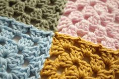 Joining squares and motifs is time consuming. If you're planning on making a granny square blanket soon and looking for the best way to join the squares...