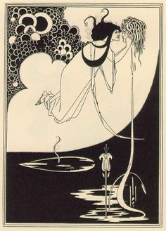 Climax  1893  by Aubrey Beardsley