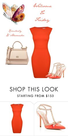 """Untitled #889"" by kimberlydalessandro ❤ liked on Polyvore featuring French Connection, Kate Spade and Dolce&Gabbana"