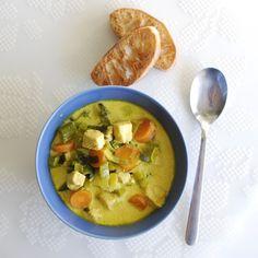 Soup using selleri