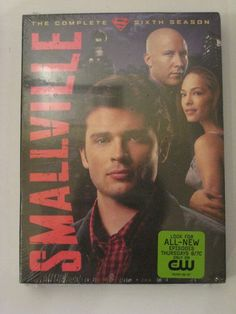 New Smallville Season 6 DVD Tom Welling Sealed CW Superman